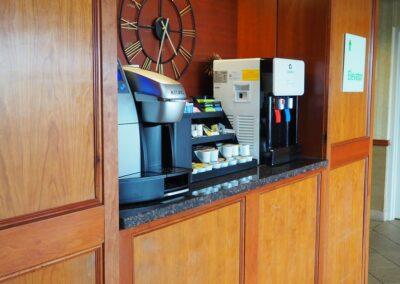 Sioux City IA Holiday Inn Coffee
