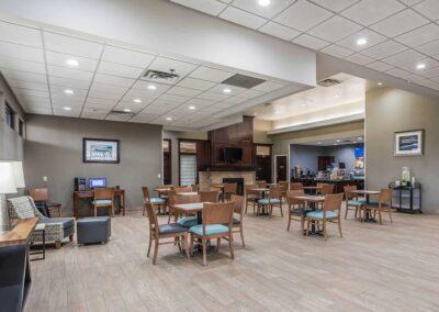 Omaha NE Comfort Inn SW Omaha I 80 breakfast 2 1