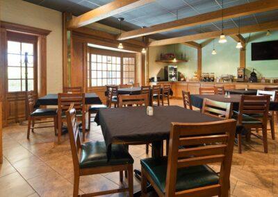Galesburg IL Best Western Prairie Inn Breakfast