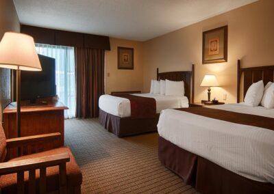 Galesburg IL Best Western Prairie Inn Guest Room 3